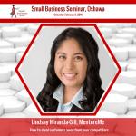 Lindsay Gill - MentureMe - Oshawa Small Business Seminar CSBW