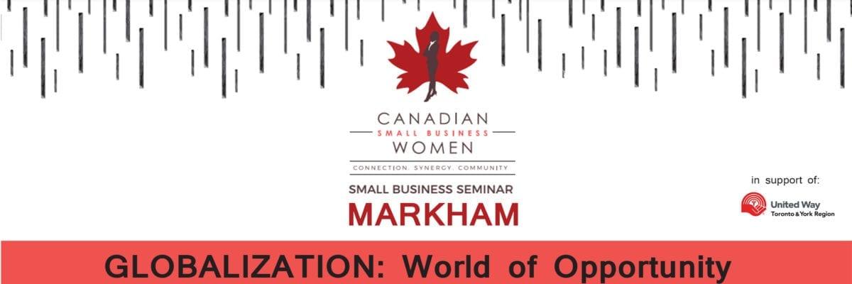 Small Business Seminar – Markham