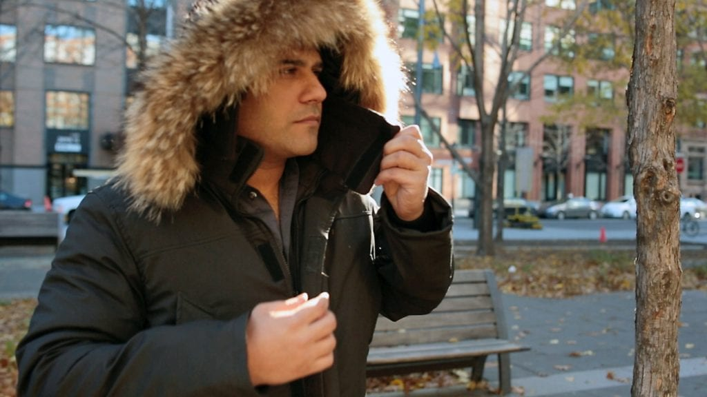 north aware - jamil kahn - kickstarter - smartparka