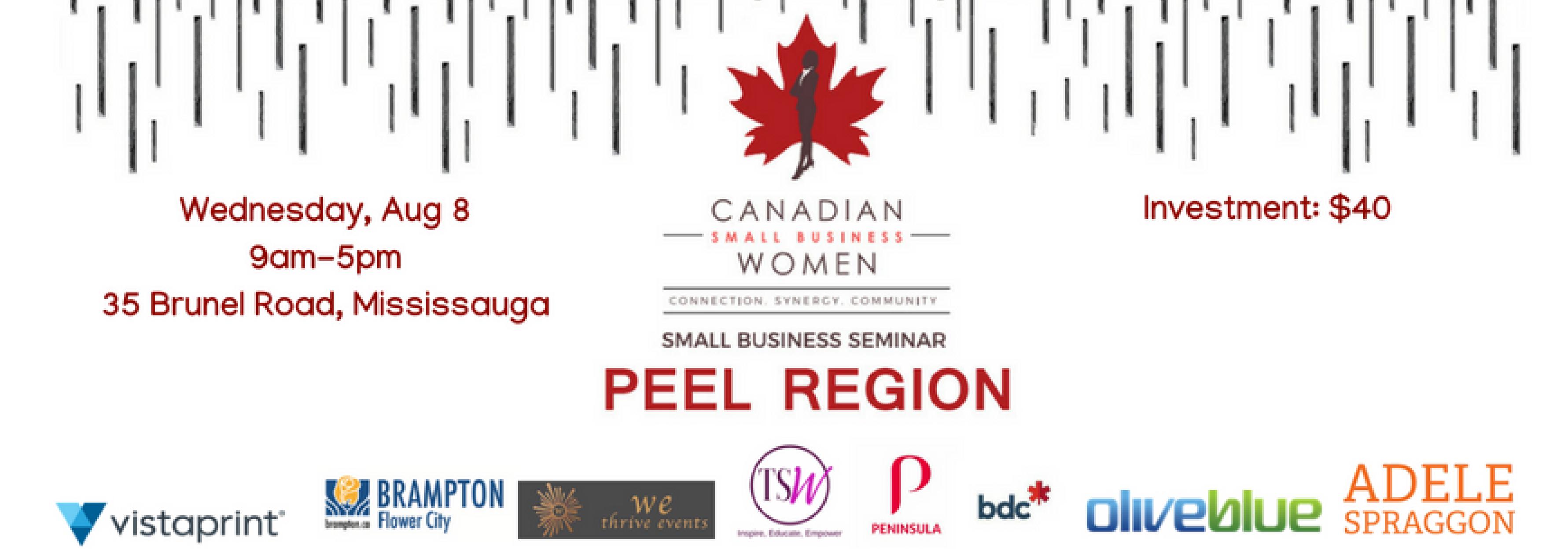 Small Business Seminar: Peel Region