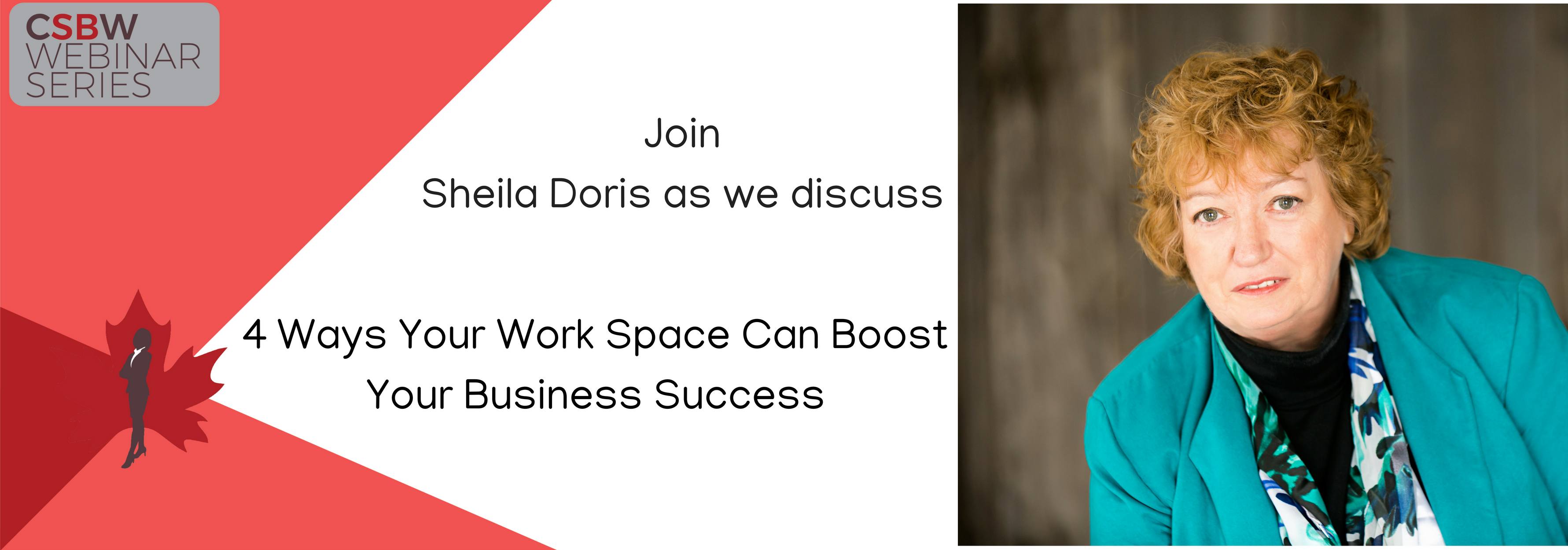 FREE Webinar:  4 Ways Your Workspace Can Boost Your Business Success
