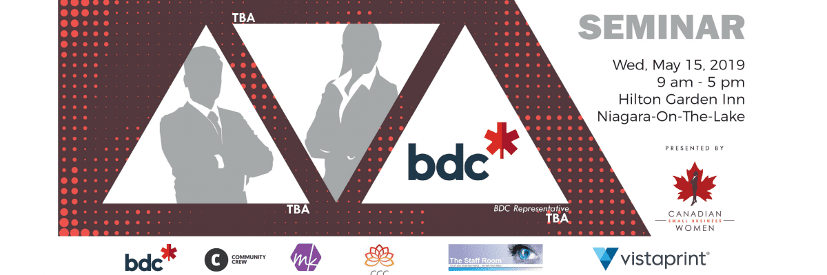 Small Business Seminar: Niagara 2019